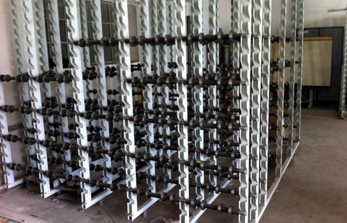 Sondermaschinenbau Regal für Stangenware
