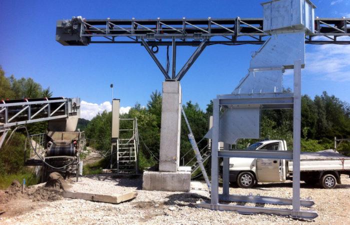 Stahlbau Kieswerk