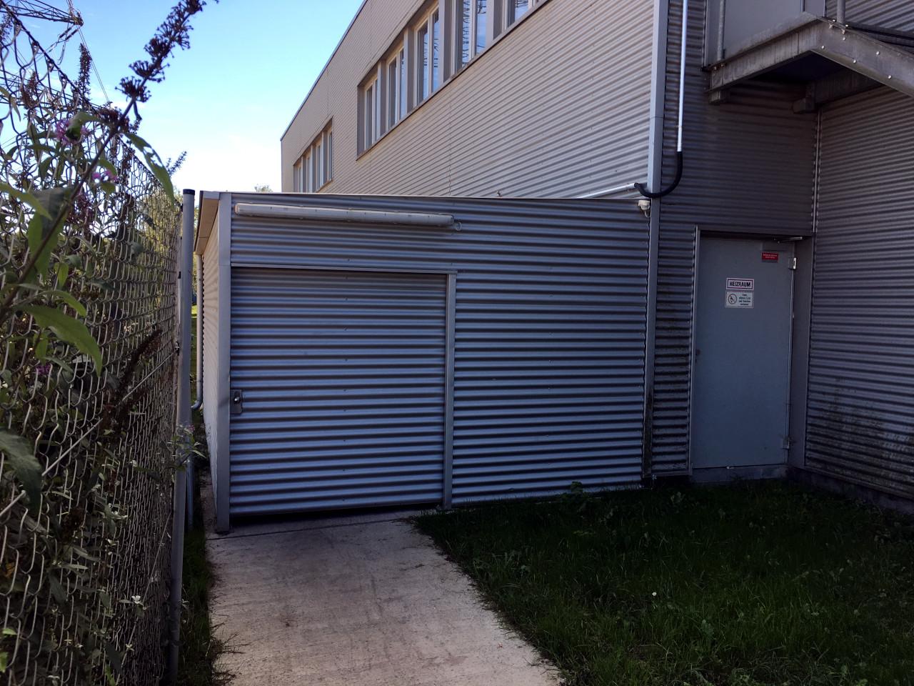 Stahlbau Mülleinhausng Wellblech